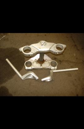Crown Plates Steering Half Clip-On Ducati ST2 ST4 ST 4 s senna