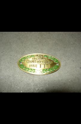 Unnumbered Yoke Plate Ducati 851 888