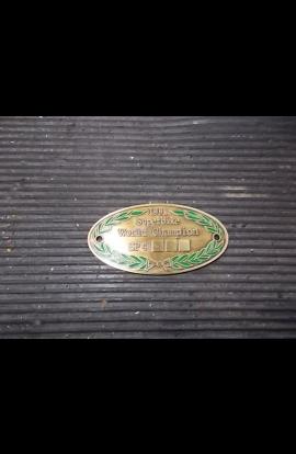 Yoke Plate Non Numerato Ducati 851 888 SP4